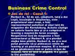 business crime control1