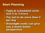 start planning2