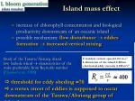 island mass effect