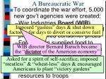 a bureaucratic war1