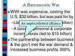 a bureaucratic war2