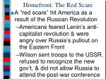 homefront the red scare