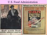 u s food administration1