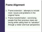 frame alignment1