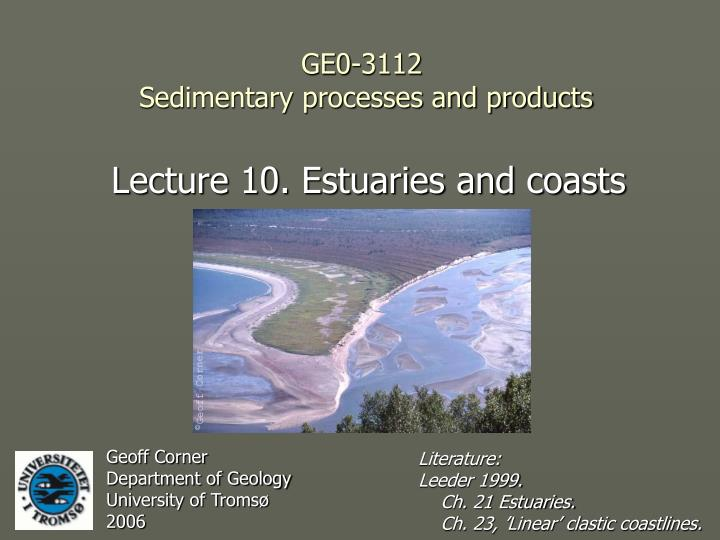 ge0 3112 sedimentary processes and products n.