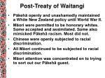 post treaty of waitangi1