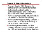 control status registers1