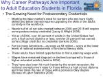 why career pathways are important to adult education students in florida