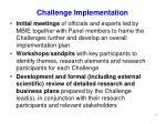 challenge implementation