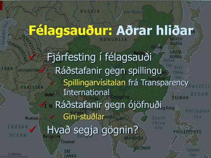 Félagsauður:
