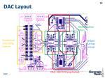 dac layout