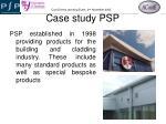 case study psp