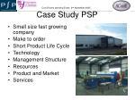 case study psp1