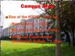 campus area