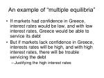an example of multiple equilibria