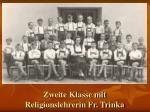zweite klasse mit religionslehrerin fr trinka
