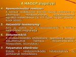 a haccp alapelvei1