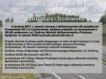 przebudowa drogi krajowej nr 1 w cz stochowie w ramach programu infrastruktura i rodowisko