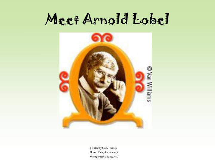 meet arnold lobel n.