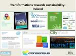 transformations towards sustainability ireland