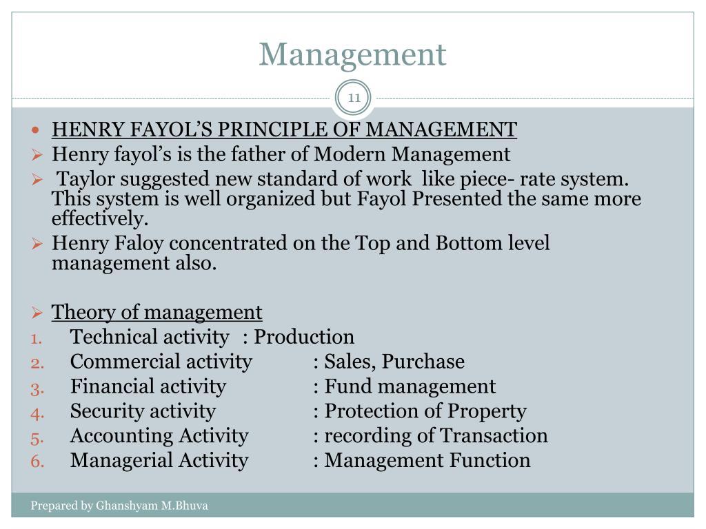 PPT - Management PowerPoint Presentation - ID:6981740