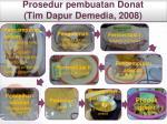 prosedur pembuatan donat tim dapur demedia 2008