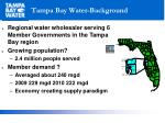 tampa bay water background