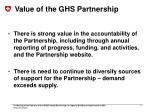 value of the ghs partnership1
