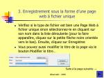 3 enregistrement sous la forme d une page web fichier unique1