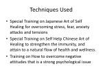 techniques used
