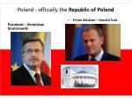 poland officially the republic of poland