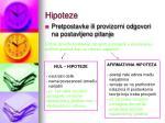 hipoteze