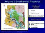 arizona s geothermal resource