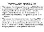 microscopios electr nicos