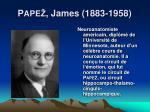 p ape james 1883 1958