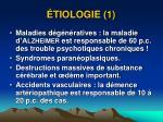tiologie 1