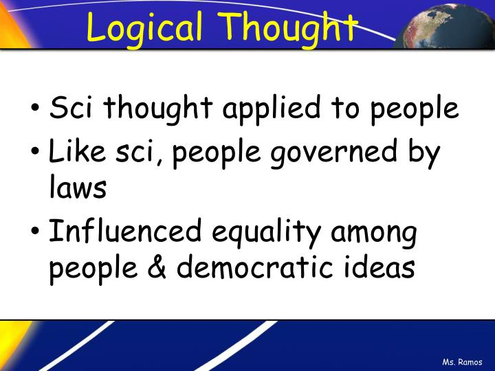Logical Thought