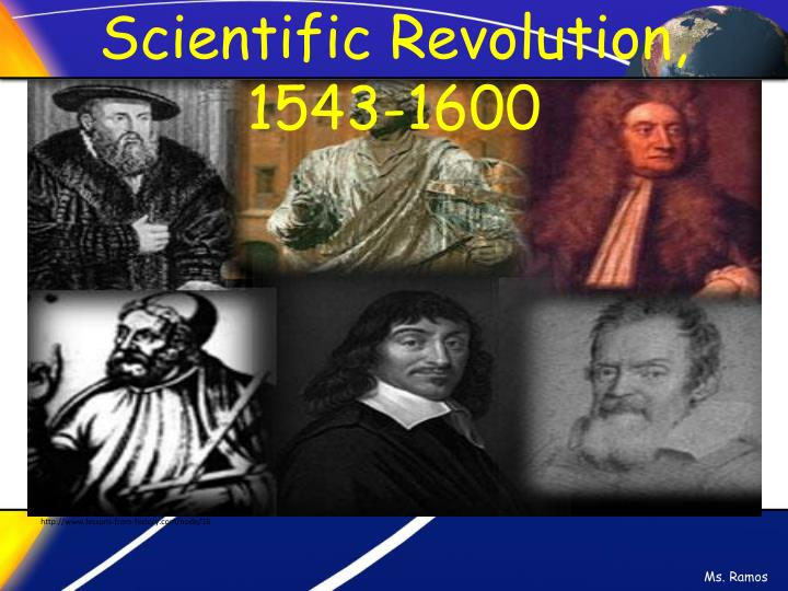 Scientific Revolution, 1543-1600