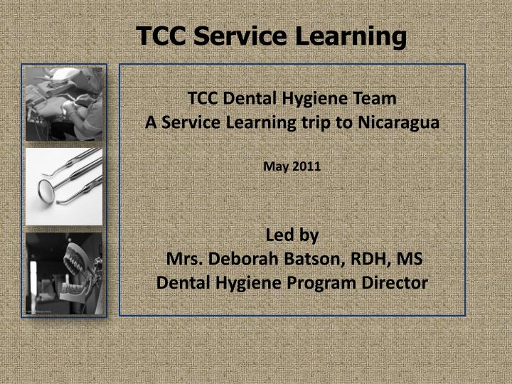 tcc service learning n.