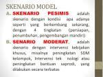 skenario model