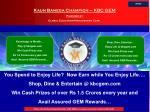 kaun banega champion kbc gem powered by global education management corp1