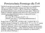 powierzchnia fermiego dla t 01