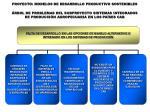 rbol de problemas del subproyecto sistemas integrados de producci n agropecuaria en los pa ses cab