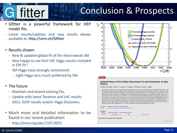 Conclusion & Prospects