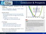 conclusion prospects