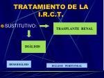 tratamiento de la i r c t3