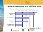 catchment modelling and sediment loads
