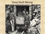 deep shaft mining
