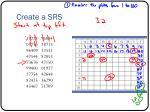 create a srs