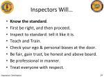inspectors will1